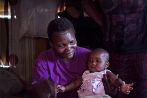 I wonder whether this HIV + grandma in Kibera will see her grand daughter grow up?