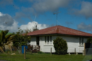 The Crean house in Tokoroa