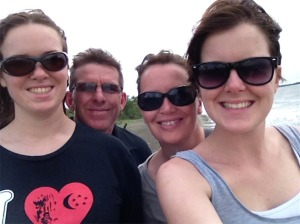 The 4 of us in the US. I left them to come back to Aussie. They went to Kenya.