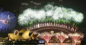 We're going to be in Sydney for NYE which is also Lizzies 25th birthday.