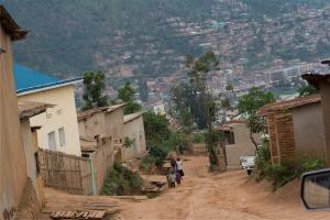 On the outskirts of Kigali, Rwanda
