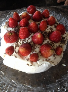 Pavlova - the reason we got fat