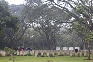 The War Cemetery is one of the tidiest places in Nairobi.